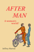Cover of After Man, a social science fiction novel