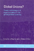 An assessment by several authors of the possibilities and strategies of global trade unions